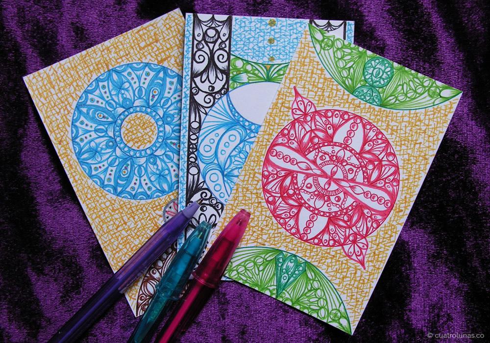 Tarot + mandalas, mis dos cosas favoritas