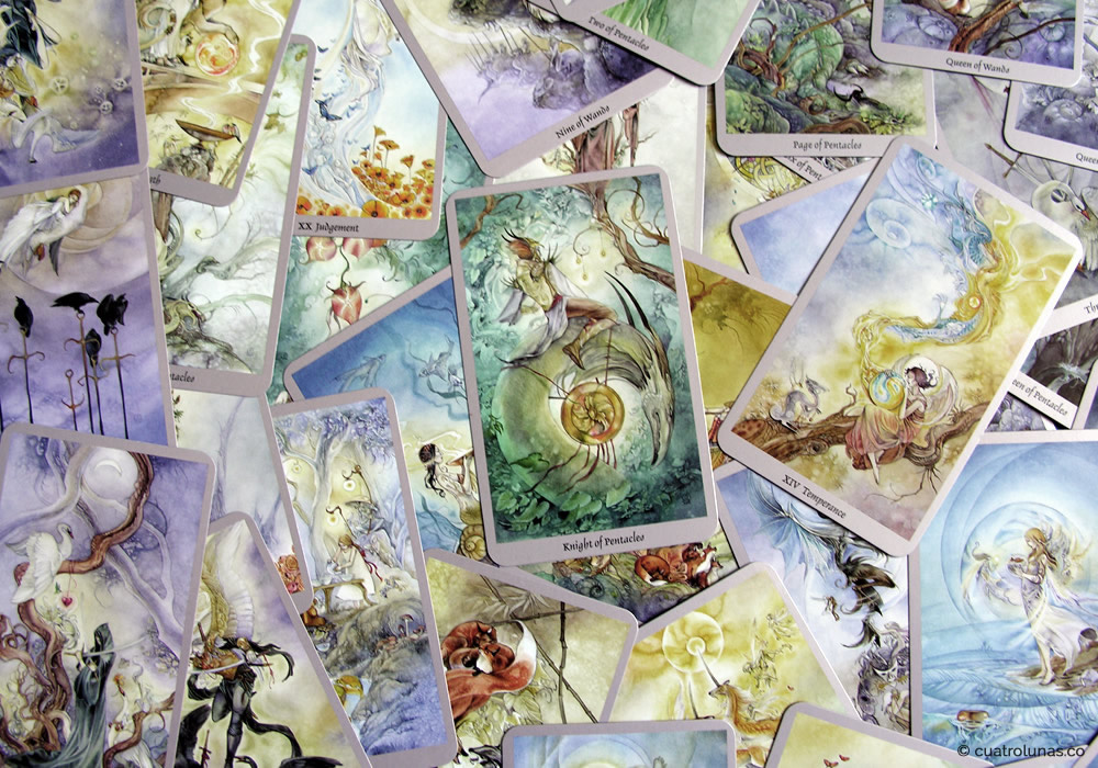 Entrevista al Tarot Shadowscapes