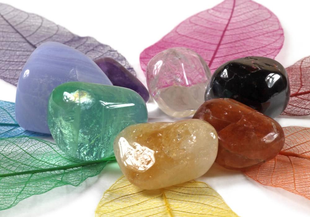 Los cristales y los 7 chakras principales
