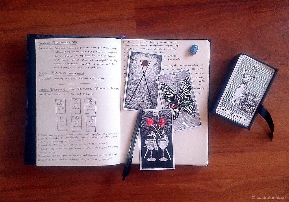 La importancia de tener un diario para el Tarot (Tarot Journal)