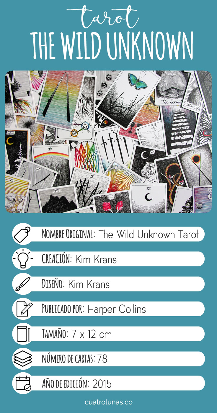 Infografia The Wild Unknown Tarot