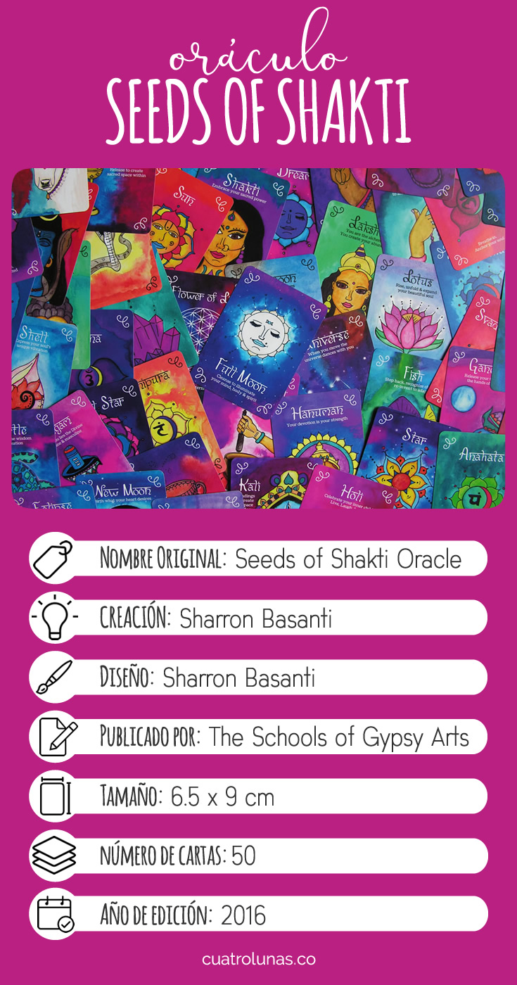 Infografia Oraculo Seeds of Shakti