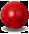 cristal coral rojo