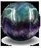 cristal fluorita