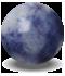 cristal sodalita