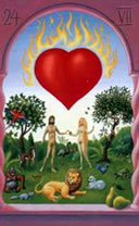 mystical lenormand heart