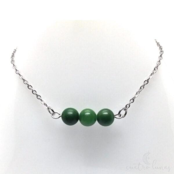 Collar Sencillo Jade