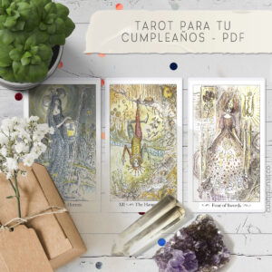 Tarot Para Tu Cumpleaños Reporte PDF Cuatro Lunas