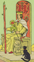 After Tarot Queen of Wands