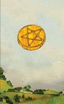 dreaming way tarot ace of pentacles