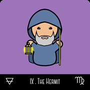 kokeshi tarot the hermit