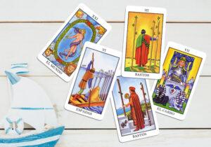 5 cartas tarot viajes