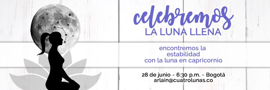 Celebracion Luna Llena Capricornio