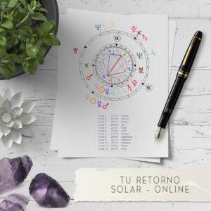 Tu Retorno Solar Online Cuatro Lunas