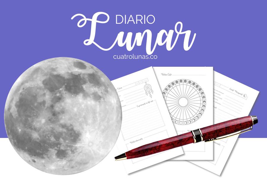 diario lunar para imprimir
