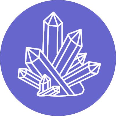 formas cristales racimo cluster