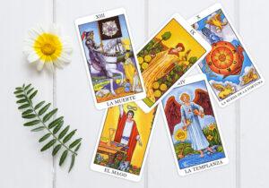 5 cartas tarot transformacion