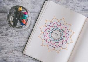 como dibujar mandalas