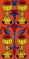 tarot marsella cuatro copas