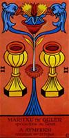 tarot marsella dos copas