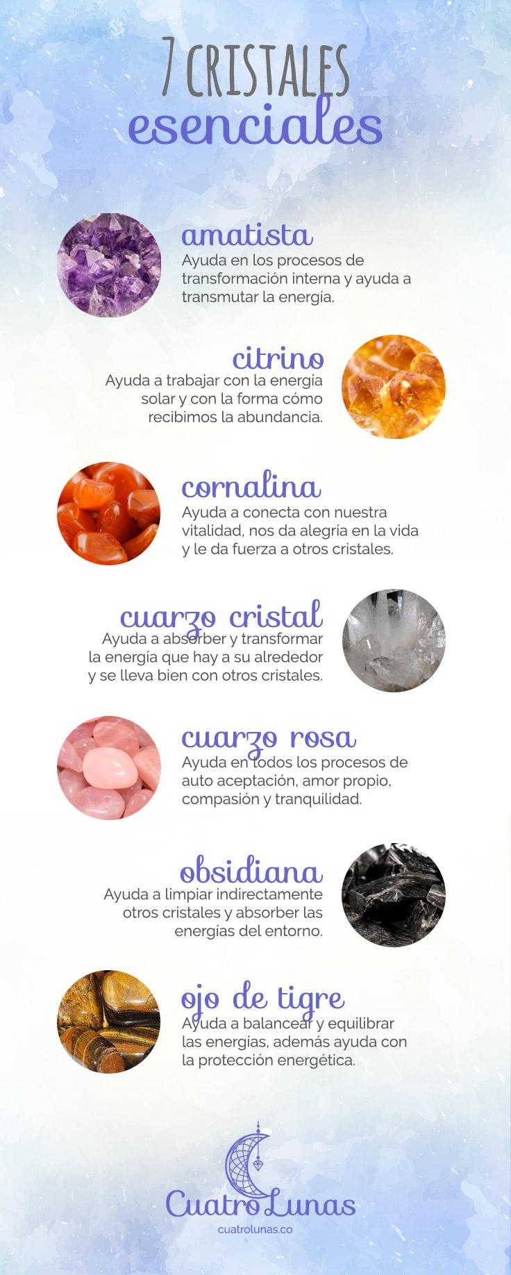 7 Cristales Esenciales
