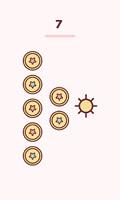 kawaii tarot seven of pentacles