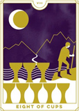 Everyday Tarot Eight Of Cups