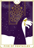 Everyday Tarot Five Of Pentacles