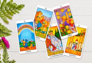5 Cartas Tarot Familia