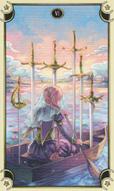 Mystical Manga Seis de Espadas