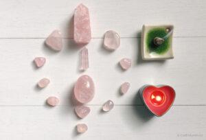 Meditacion con el Cuarzo Rosa