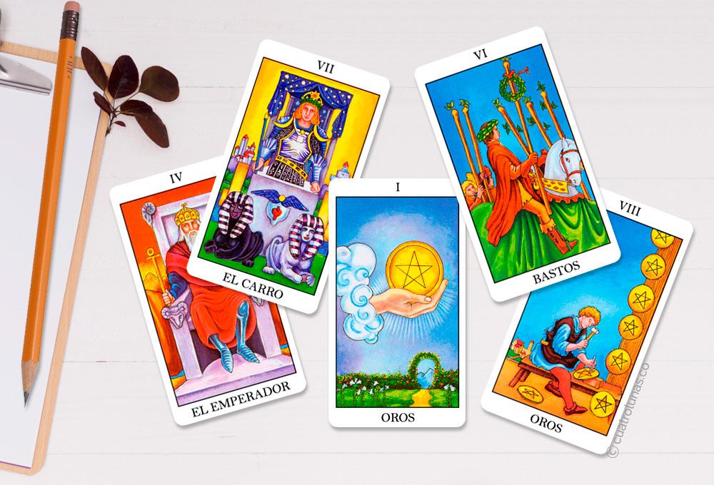 Cartas del Tarot Relacionadas con la Carrera