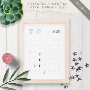 Calendario para imprimir 2021