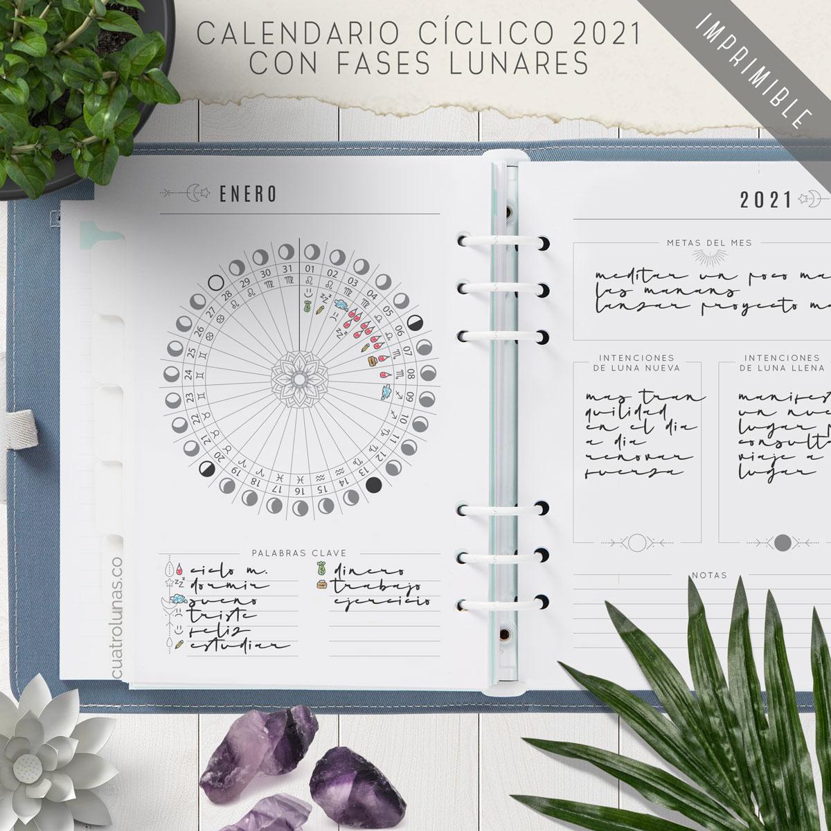 Calendario Ciclico 2021